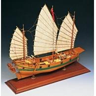Chin. Piraten Dschunke 400 mm lang