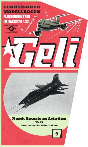 North Amerikan X-15 Geli