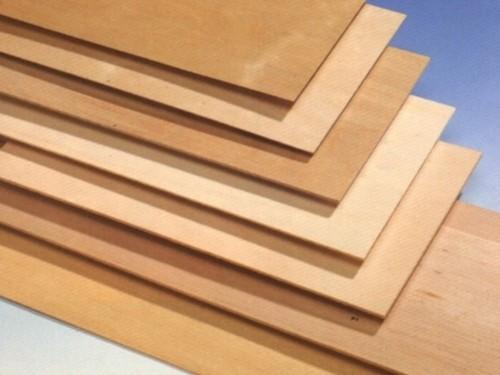 Birkensperrholz 370 x 300 x 0.6 mm 3 Schichten