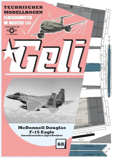 McDonnell Douglas F-15 Eagle Geli