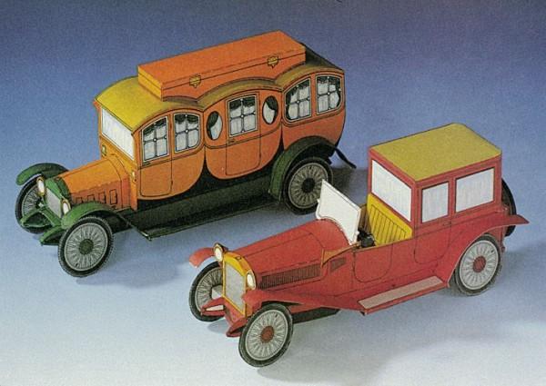 Alfa Lambda + Comfort Motor Reisekutsche 1913