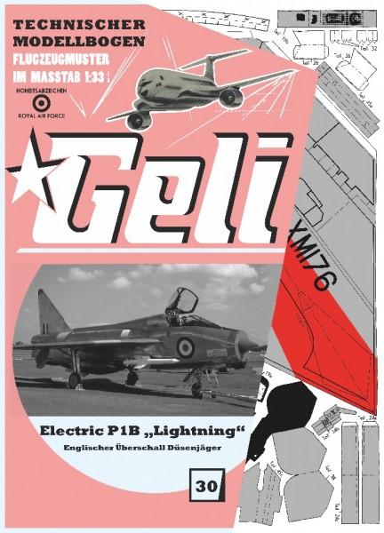 "Electric P1B ""Lightning"" Geli"