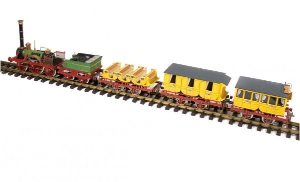 Adler Wagons (3 Modelle) Holzbausatzl 1:24 / Spur G
