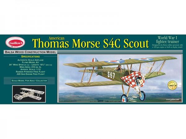 Thomas Morse S4C Scout 610 mm Spwt. lasergeschnitten
